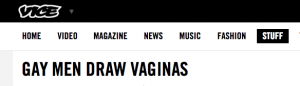 GAY MEN DRAW VAGINAS - VICE UK