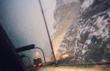 #I-70 #wintry #tunnel #roadtrip #truckporn #audi #winterwonderland