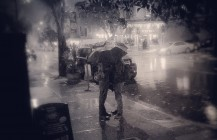 #inclement #rain #intimate #lovers #umbrella #kisses #gay #castro #SanFrancisco