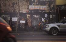 #sidewalking #orangevest #onthestreet #valenciastreet #SUV #missiondistrict #sf