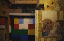 Another day of prepping the #art #studio for #sfopenstudios #sfos #sfos40 #castro #localartist #painting #lego #madonna #pixelstud http://ift.tt/20yH9LN