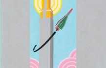 "Place yourbid on the original #sanfrancisco #handpainted #lamppost #banner : ""Ocean Avenue Rocket Whirl"" http://ift.tt/2bvvRqT Auctionends Wed atnoon,Aug 31st! #oceanavenue #artsaliveingleside #rocket #art #pixelstud #sf #streetart #inglesidedistrict"