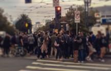 Now it's a mob scene #emperorhasnoballs #trump #trump2016 #dumptrump #nudetrump #sanfrancisco #castrodistrict #castrostreet #janewarnerplaza #publicnudity #nbcbayareanews #pixelstud